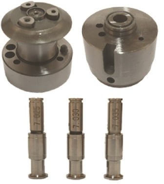 Valve for EUI and EUP injectors