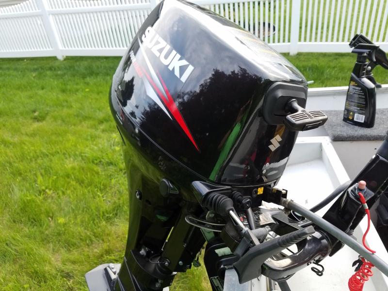 Suzuki 15 hp electric start outboard motor long shaft by for 15 hp electric boat motor