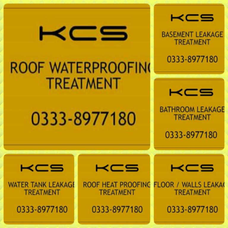 Roof Waterproofing Treatment By Karachi Chemical Services