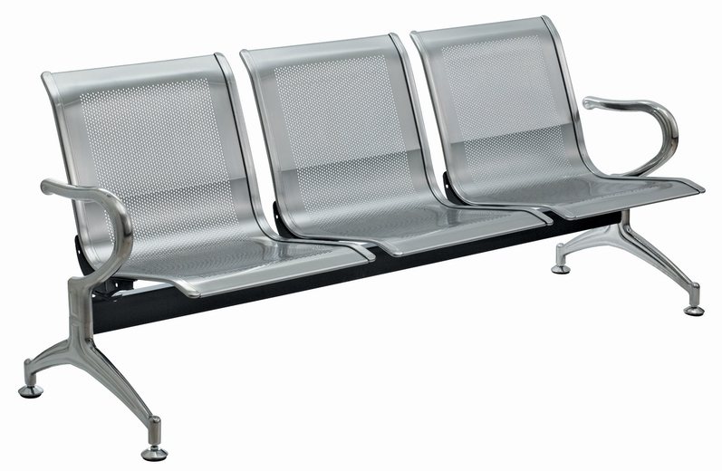Stainless steel waiting chair, airprot chair, waiting hall furniture