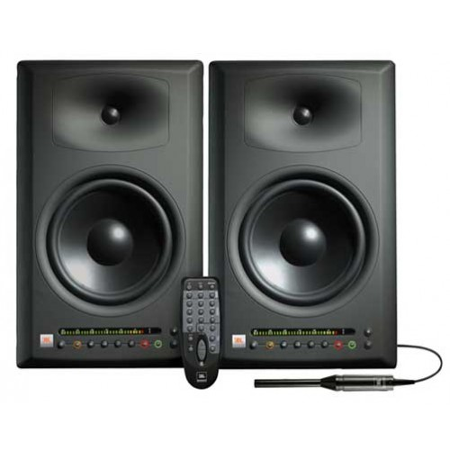 JBL LSR4328P Powered Studio Monitors - 8 Inch, 220 Watts