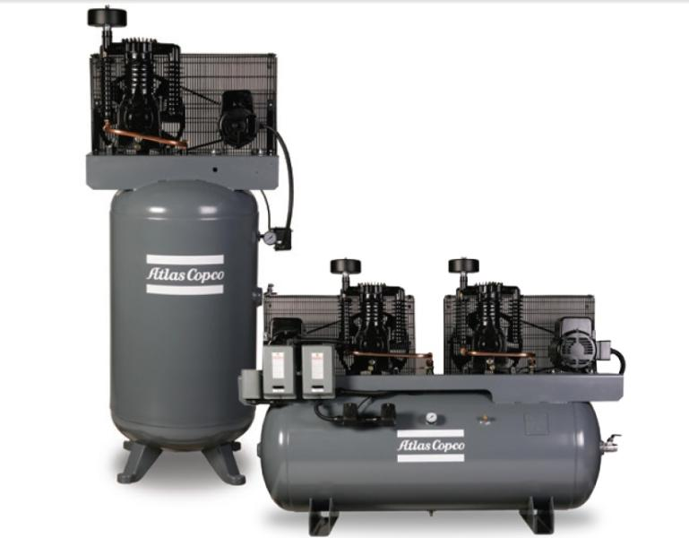 Atlas Copco Ar Series Commercial Piston Compressors By A Amp S