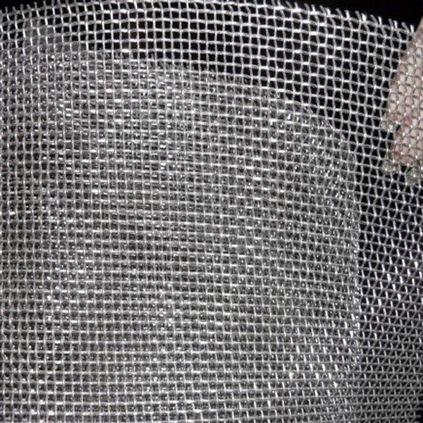 Square opening stainless steel wire cloth by web mesh