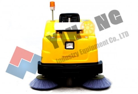 yihong battery sweeper yh b1350 industrial sweepers compact