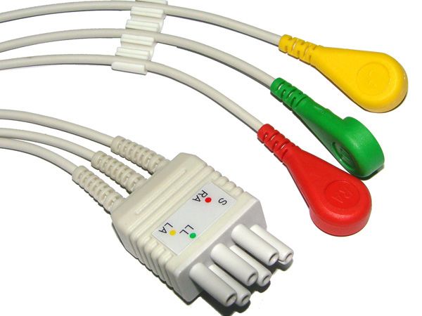 colin 3lead  ecg cable