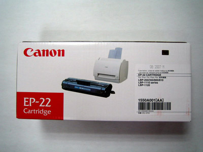 Canon EP 22 Toner Cartridges Click to View Original Image