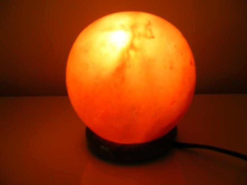 Ukraine Salt Lamps : Himalayan Salt Ball Shape Lamp by Al-Azeem Enterprises