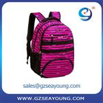 durable child backpack school plush backpack bag