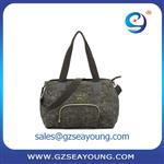 high quality ladies fashion bag camouflage color tote bag