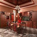 Solid Wood Kitchen Cabinet Made in China