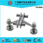 SUS 304/316 Stainless Steel Glass Wall  Spider System YK-8009