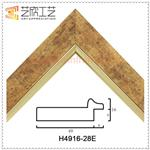 Plastic Picture Frames Profiles Classic Oil Painting Inner Frame Moulding H4916
