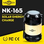 Dual Recharging Luminous Way Solar Camping Lantern (NK-165)