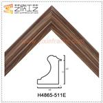 High Quality Standard Picture Frames Funky Plastic Photo Frame Moulding H4865