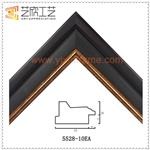 Wholesale Cheap Picture Frame Moulding Supplier Embossed Photo Molding 5528
