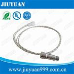 High temperature meat probe receptacle