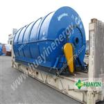 XINXIANG HUAYIN used plastic recycling machine, Tire Pyrolysis To Oil Machine Used For Generator
