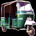 150CC 4-Stroke Autorickshaw with CNG