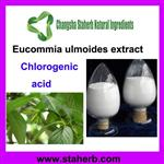 Eucommia Extract Chlorogenic acid 1% 98% CAS NO. 327-97-9 www.staherb.cn