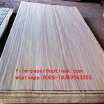 Slice cut poplar wood veneer