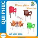 Restaurant Chair Plastic Arm Chair