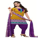 Trendy Printed Casual Wear Cotton Salwar Kameez 1005