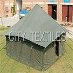 Military Single Pole Square Tent - Double Fly