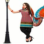 Pretty Printed Casual Wear Cotton Salwar Kameez 1009