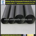 customized 3k weave carbon fiber tube for industri