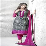 Amusing Abstract Patterned Salwar Kameez 14007a