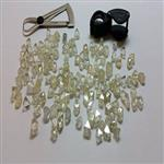 Rough diamonds / Polished diamonds