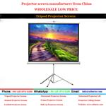 Tripod Projector Screen/China Projector Screen Manufacturer(Supply to all over the world)