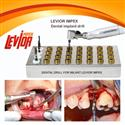 Dental implant drills TWIST IMPLANT DRILLS WITH EXTERNAL IRRIGATION