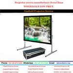 Fast Fold Projector Screen/China Projector Screen Manufacturer(Supply to all over the world)