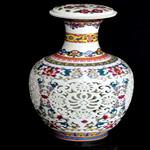 Chinese Antique hand painted large ceramic floor standing vases ceramic decorative flower vases