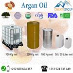 100% Pure And Certified Organic Argan oil in bulk