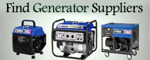 Find Generator Suppliers